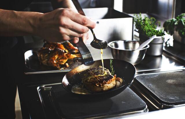ゲストハウス 料理