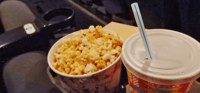 映画館ポップコーン