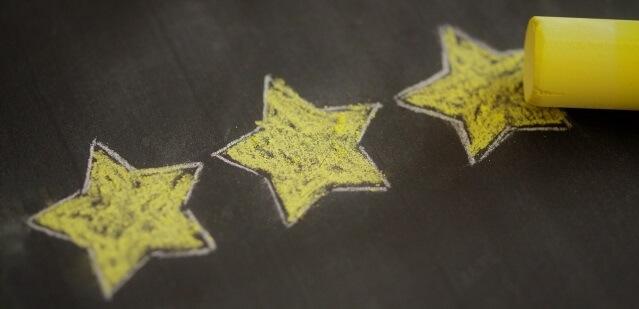 信頼性の星印