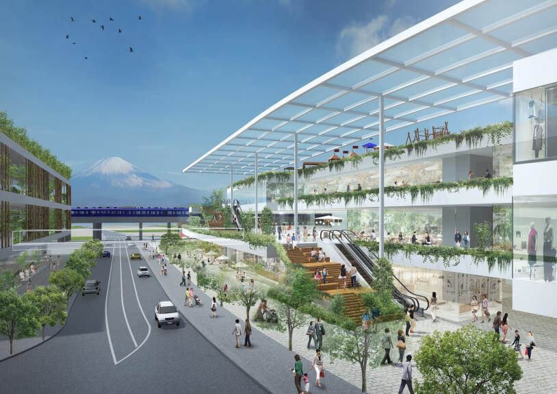 相鉄/横浜・ゆめが丘駅前に大規模集客施設を開発