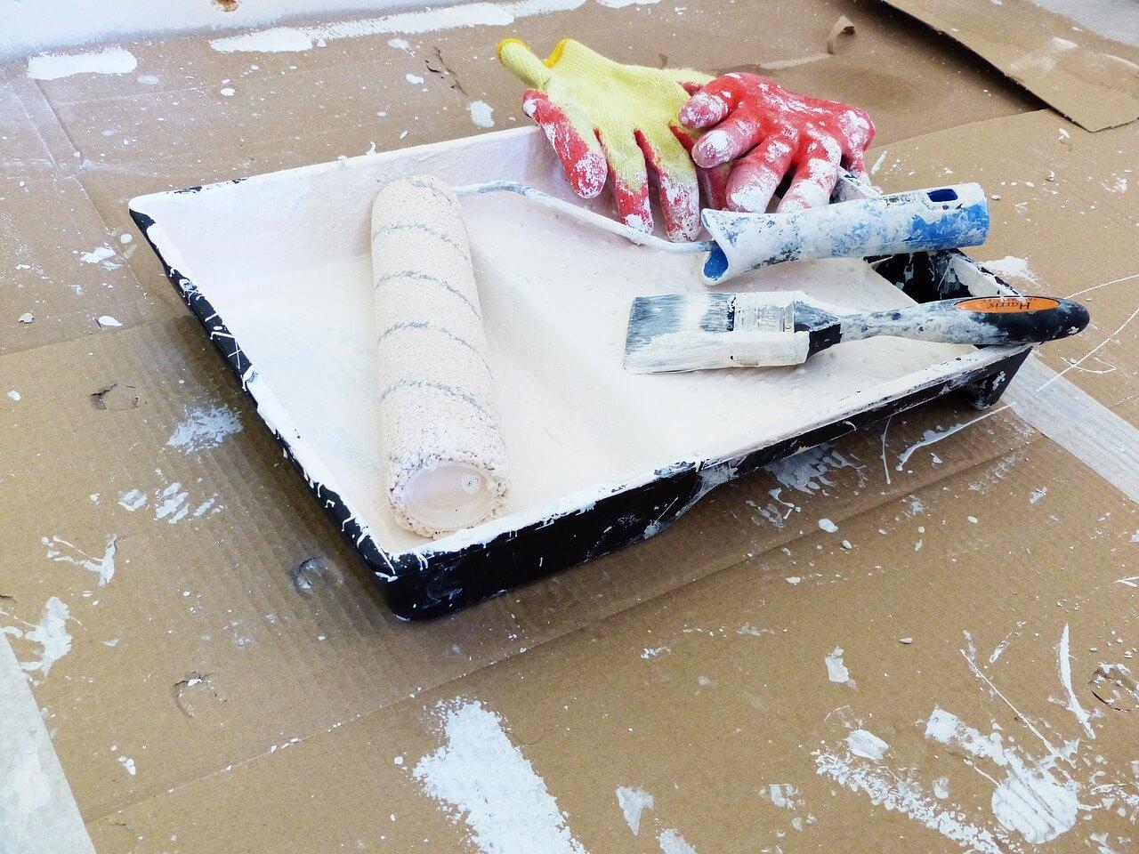 外壁塗装の道具