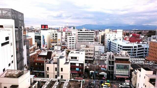 町田駅周辺の光景