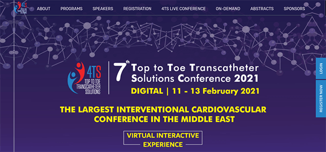 4TS 2021 Digital - 7th Top to Toe Transcatheter Solutions Conference