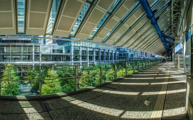 品川駅周辺の光景