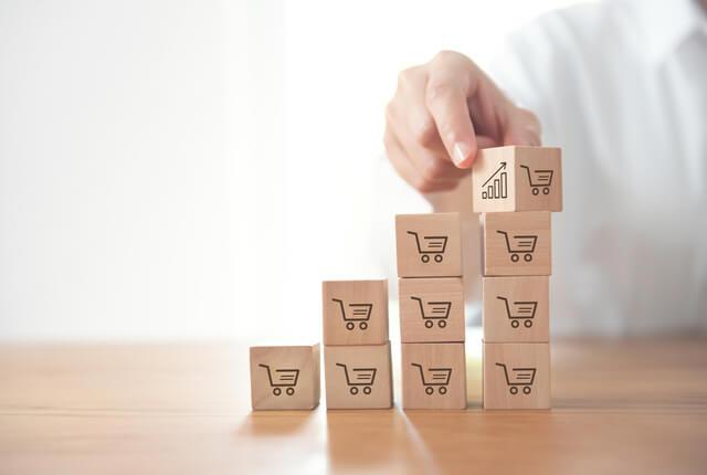 高単価な商品が売れる体制づくりが重要