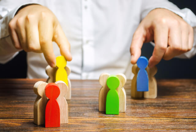 セグメンテーションを行う4つの代表的な切り口